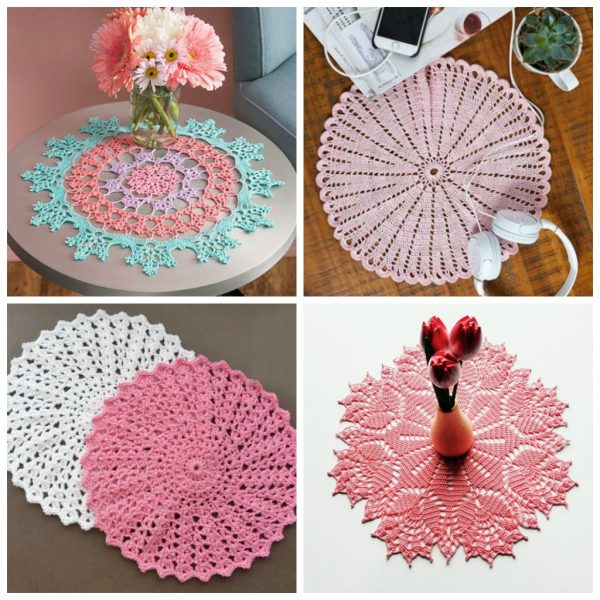 Crochet doily patterns are unique and a great investment of time. They take skill and attention to detail and are perfect for relaxing. #crochetpatterns #crochetdoilypatterns #freecrochetpatterns #crochetaddict