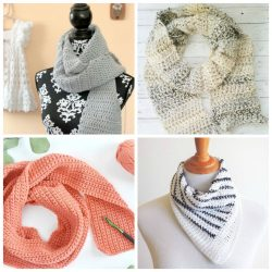17 Easy Crochet Scarf Patterns