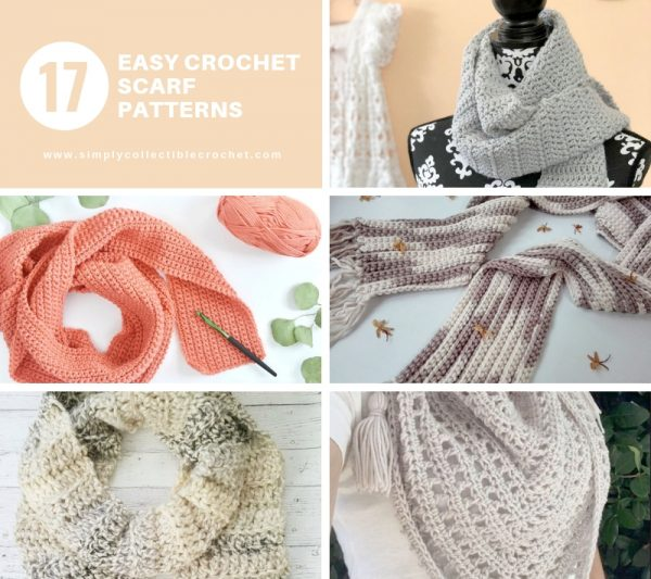 17 Easy Crochet Scarf Patterns Simply Collectible Crochet