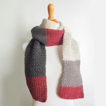 The Boyfriend ScarfThis list of free scarf patterns has crochet for beginners. Choose between these free crochet patterns and get to work on a project you can be proud of. #CrochetScarfPatterns #CrochetScarf #FreeCrochetPatterns