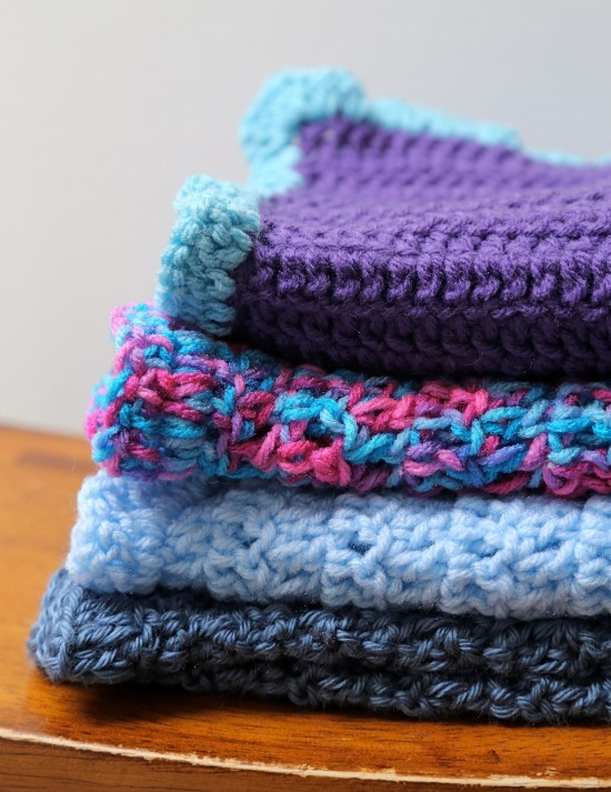 Double Crochet Baby Blanket - These free crochet afghan patterns are unique and fitting for any situation. Whether you're making a crochet baby blanket or a lapghan. #CrochetBlanketPatterns #DoubleCrochetBlankets #FreeCrochetPatterns