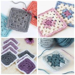 18 Easy Crochet Granny Square Patterns