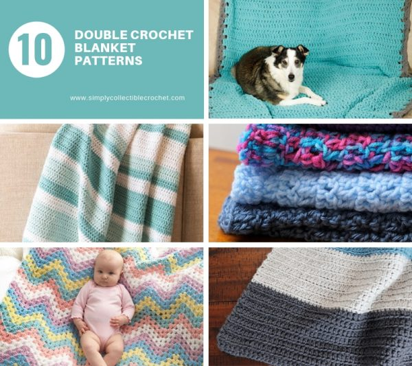 These free crochet afghan patterns are unique and fitting for any situation. Whether you're making a crochet baby blanket or a lapghan. #CrochetBlanketPatterns #DoubleCrochetBlankets #FreeCrochetPatterns