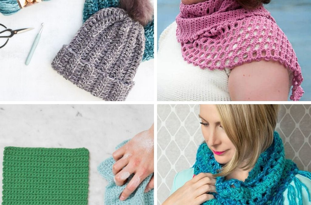 22 Quick & Easy Beginner Crochet Patterns