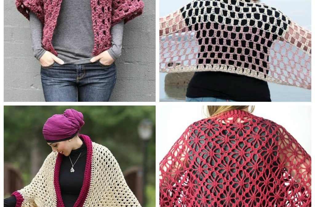 18 Chic Crochet Shrug Patterns