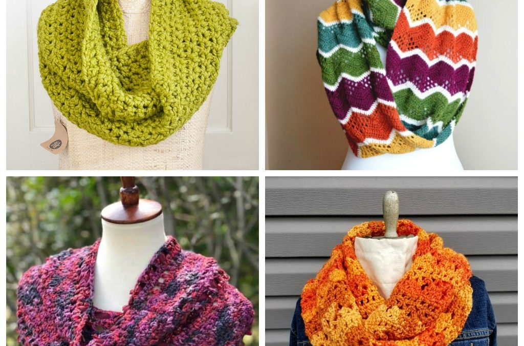 18 Cozy Crochet Infinity Scarf Patterns Perfect for Beginners