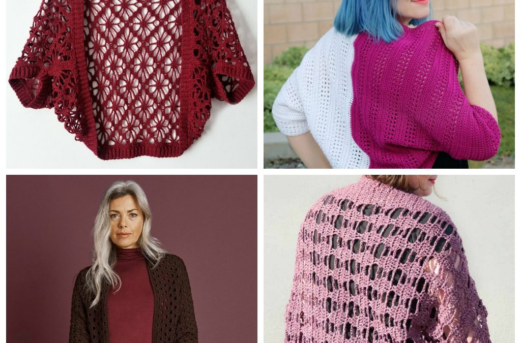 27 Beginner Crochet Shrug Patterns