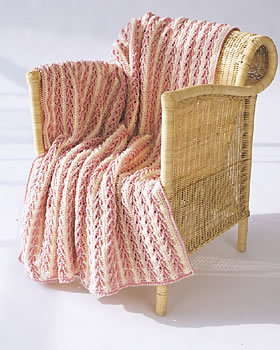 Arrow Stitch Crochet Afghan - This list of 17 easy crochet afghan patterns has a good variety of styles and stitches that will allow you to flex your crochet muscle. #easycrochetafghanpatterns #crochetafghanpatterns #crochetpatterns