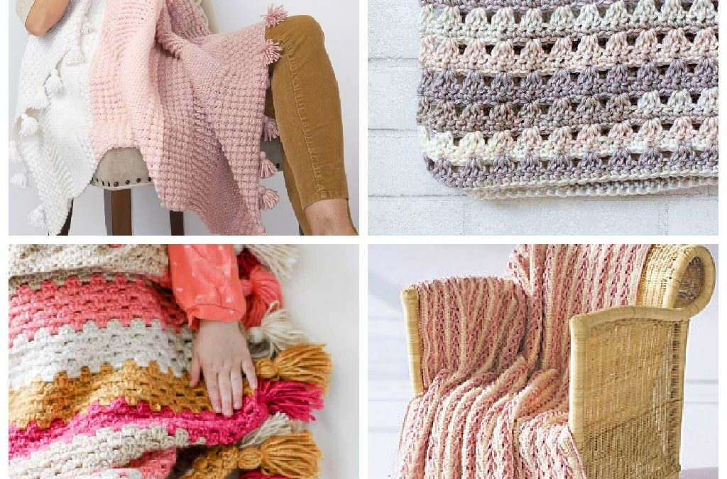 17 Easy Crochet Afghan Patterns to Start This Weekend
