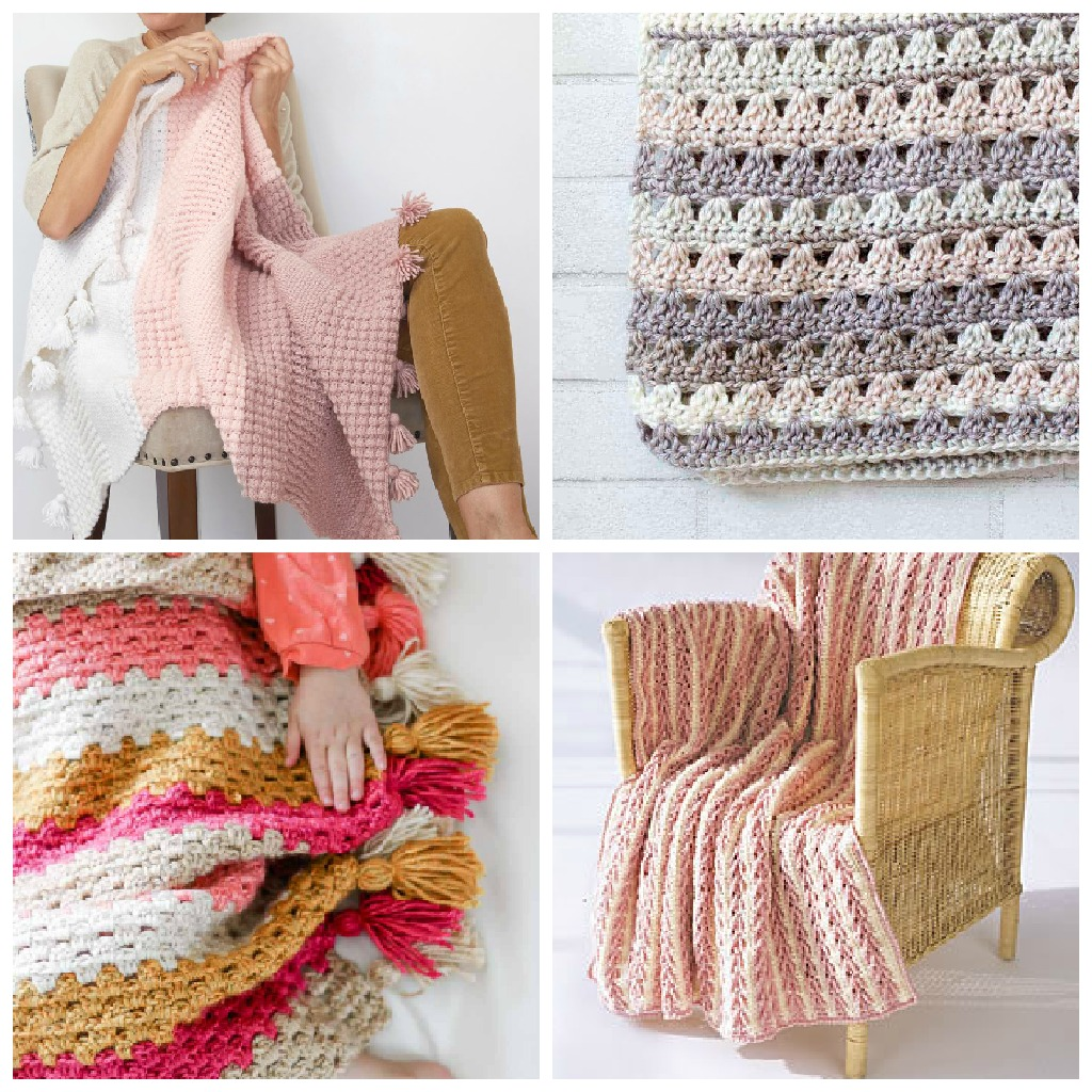 17 Easy Crochet Afghan Patterns To Start This Weekend Simply Collectible Crochet